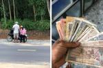 2 cha con xuống núi, 'vét' sạch túi được 1 triệu để mua điện thoại học online và phản ứng bất ngờ từ chủ cửa hàng