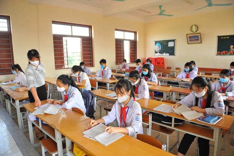 Hà Nội chuẩn bị công tác đón học sinh quay lại trường khi dịch bệnh COVID-19 được kiểm soát. Ảnh minh họa