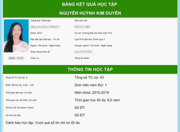 """Mỹ nhân đại diện Việt Nam thi Miss Universe 2021 bất ngờ bị """"bóc phốt"""" nợ 43 tín chỉ, bị thôi học? - Ảnh 2."""