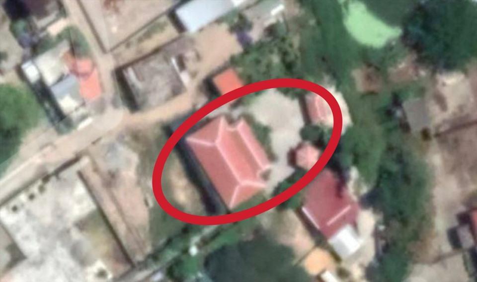 Vị trí căn biệt thự trái phép toạ lạc. Ảnh chụp từ Google Maps