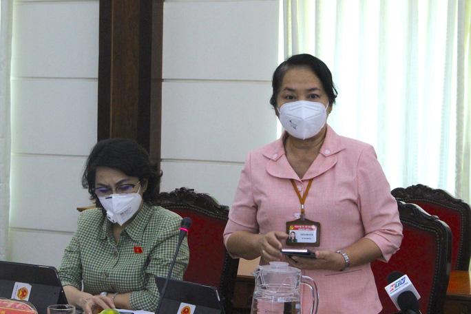 ĐBQH Trần Kim Yến cho rằng khối lượng công việc của các tổ dân phố, tổ nhân dân rất lớn.