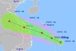 Vùng áp thấp mạnh lên, miền Trung mưa lớn 300 mm