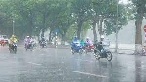 Xã hội - Dự báo thời tiết 25/9/2021: Hà Nội mưa rất to