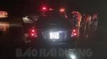 Ô tô con đâm đuôi xe bồn trong đêm, 1 người tử vong