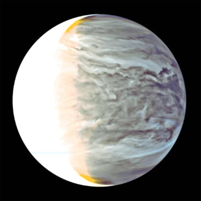 Sao Kim là mục tiêu được giới thiên văn chăm sóc trong cuộc tìm kiếm sự sống ngoài hành tinh. Ảnh: NASA