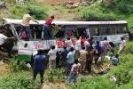 Xe buýt rẽ để tránh tông gia súc, 12 người Ấn Độ thiệt mạng