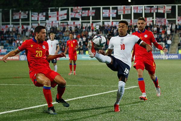 Tuyển Anh thắng 5-0 ở vòng loại World Cup