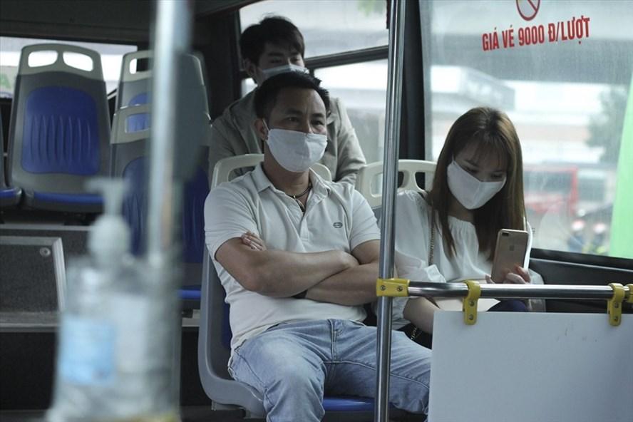 Xe buýt Hà Nội sắp được hoạt động trở lại. Ảnh minh hoạ: Trần Vương
