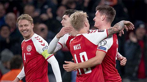 ĐT Đan Mạch giành vé dự World Cup 2022
