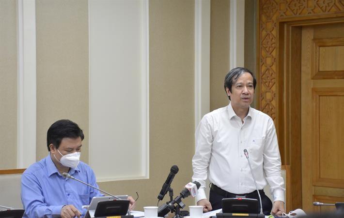 Bộ trưởng Bộ GDĐT Nguyễn Kim Sơn. Ảnh: MOET.
