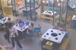 Clip: Sàm sỡ nhầm nữ cao thủ Taekwondo, 2 gã đàn ông nhận kết đắng