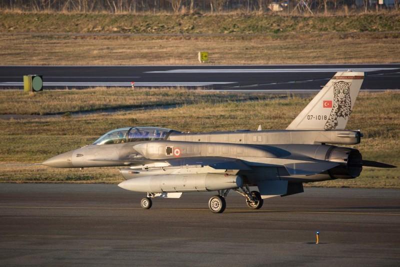 Tiêm kích F-16 của Thổ Nhĩ Kỳ. Ảnh: The EurAsian Times.