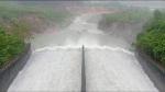 Sáng nay, hồ Kẻ Gỗ tiếp tục tăng lưu lượng xả
