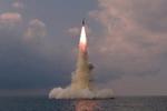 Triều Tiên xác nhận thử nghiệm tên lửa đạn đạo phóng từ tàu ngầm