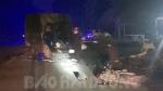 Ô tô va chạm với xe máy trên đường 390C trong đêm, 3 người thương vong