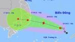 Bão giật cấp 10 hướng vào từ Bình Định đến Bình Thuận, miền Trung mưa rất to